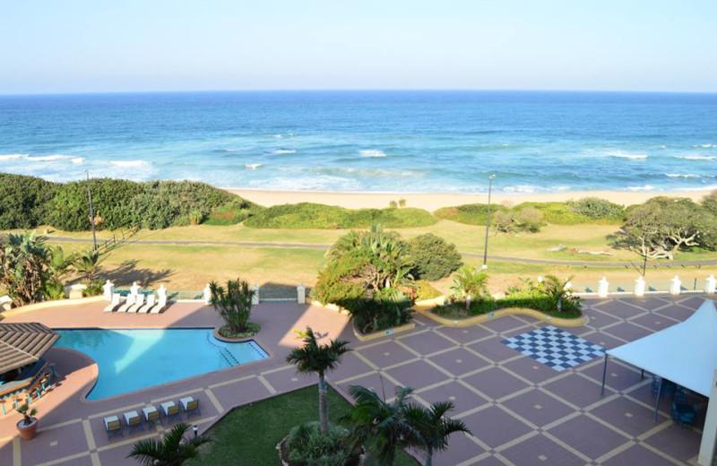 Outdoor pool at Kapenta Bay Resort.