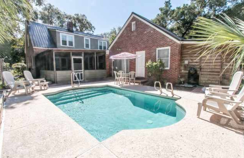 Rental pool at Real Escapes Properties.