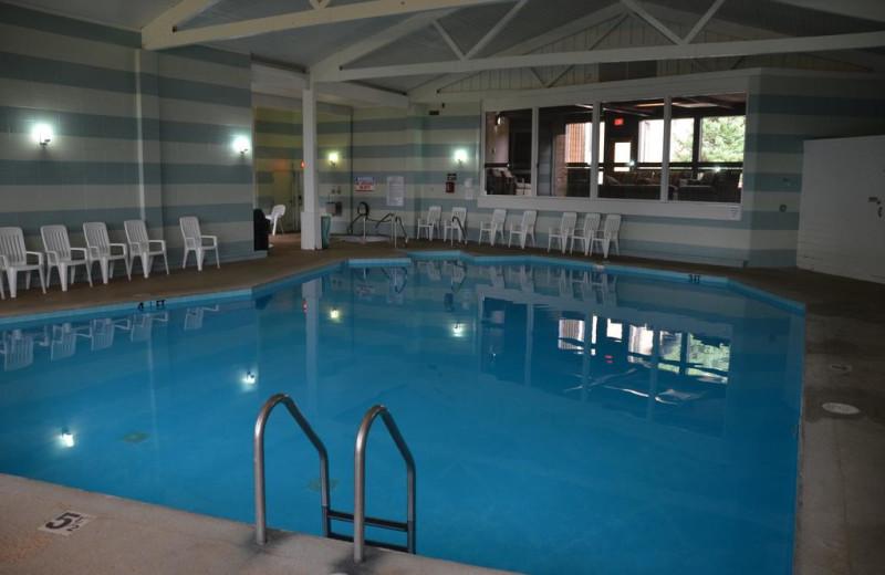 Indoor pool at Devils Head Resort & Convention Center.