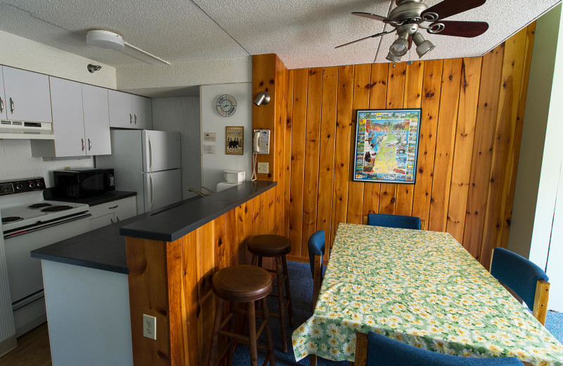 Guest kitchen at Waterville Valley.