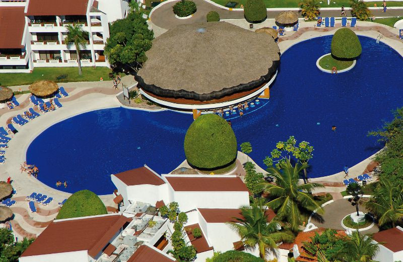 Arial Pool View at Barcelo Puerto Plata