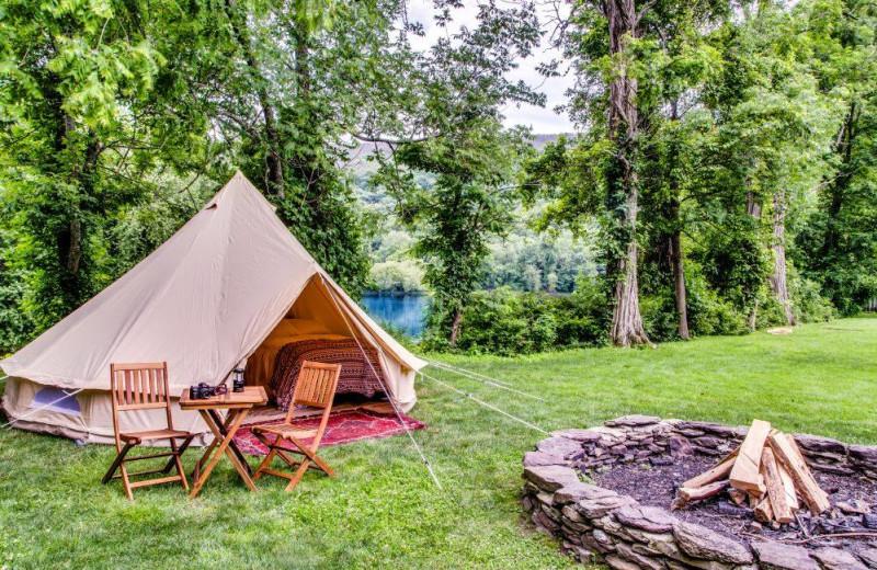 Yurt at Shawnee Inn and Golf Resort.