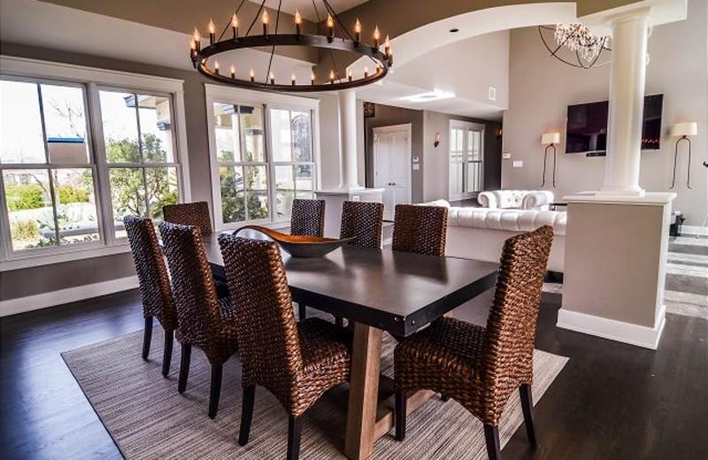 Rental dining room at Lake Travis & Co.