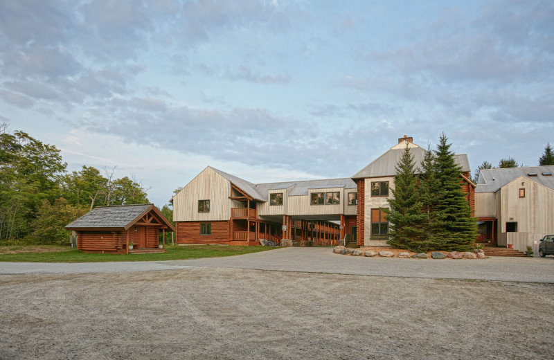 Exterior view of Drummond Island Resort and Conference Center.