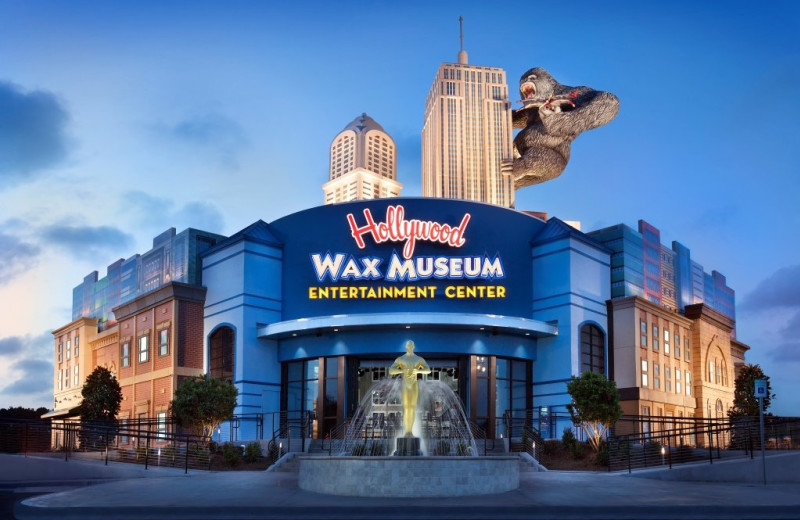Wax museum near The Strand Resort Myrtle Beach.