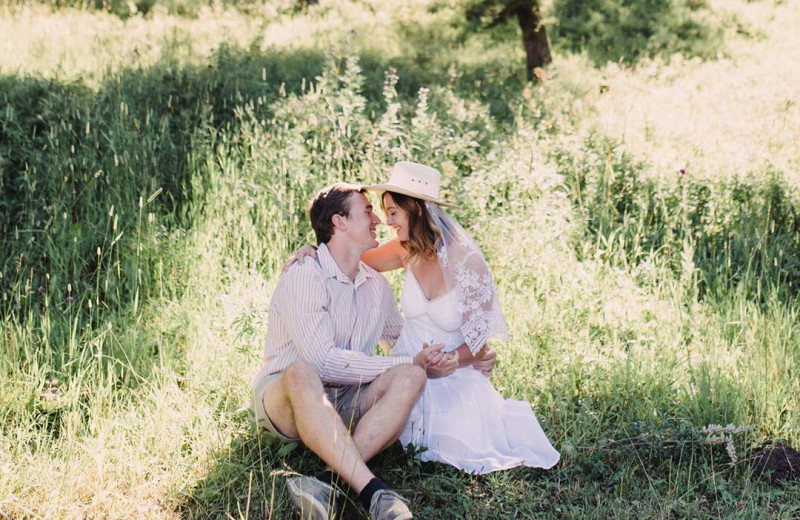 Weddings at Hardscabble Ranch.
