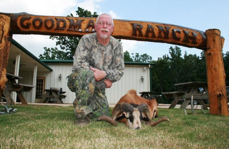 Ram hunting at Goodman Ranch.