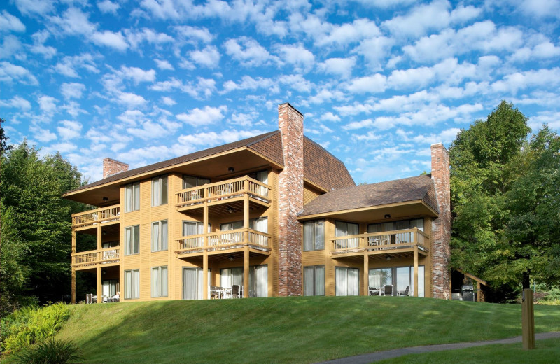 Exterior view of Summit Resort.