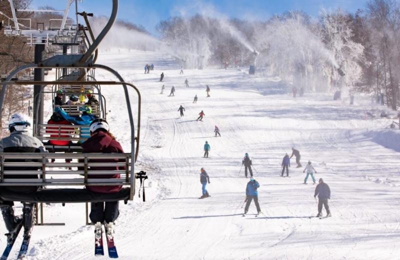 Ski near The Woodlands.