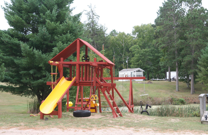 Playground at Bay View Lodge.