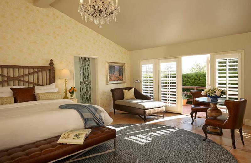 Guest room at The Inn at Rancho Santa Fe.