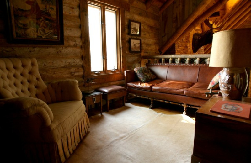 Guest room Interior at The Lodge at Red River Ranch.