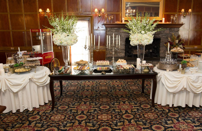 Wedding reception at The Fox Hill Inn.