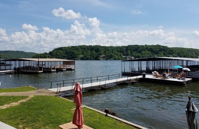 Lake at Kon Tiki Resort.