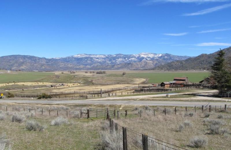 Beautiful mountains at Rankin Ranch.