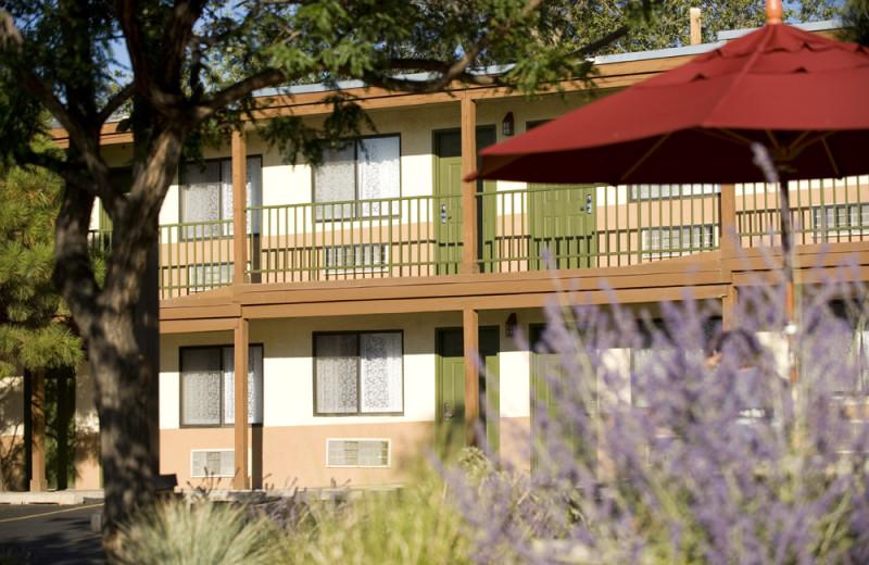 Exterior Hotel at Santa Fe Sage Inn