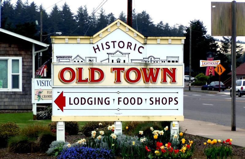 Town near Old Town Inn.