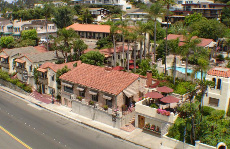 Aerial view of Casa Laguna Inn.