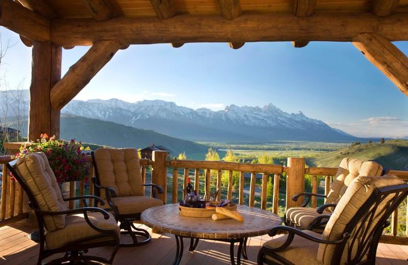 Deck at Spring Creek Ranch