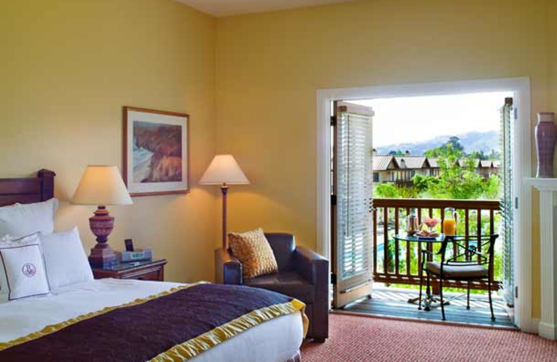 Guest room at The Lodge at Sonoma Renaissance Resort & Spa.