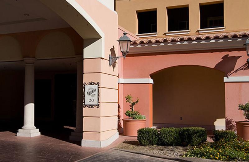 Viera Porte Cochere at MonteLago Village Resort
