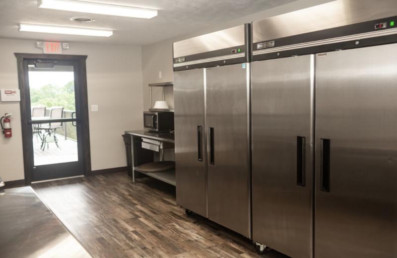 Meeting kitchen at Granite Springs Lodge.