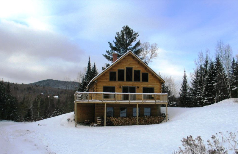 Rental exterior at Franconia Notch Vacations Rental & Realty.