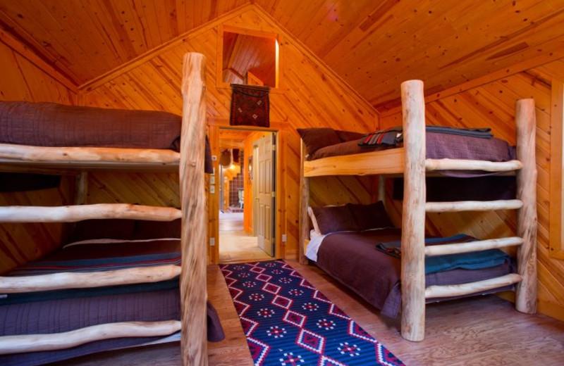Bunk beds at Kessler Canyon.