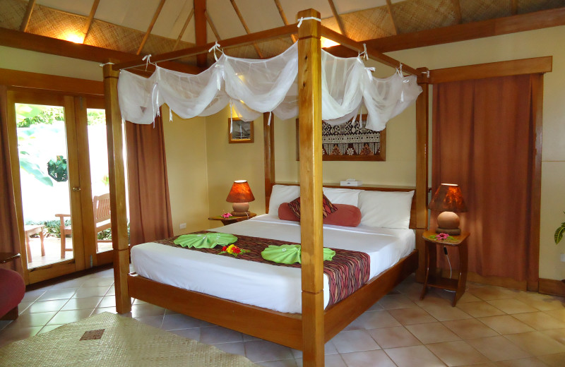 Suite Interior at Koro Sun Resort