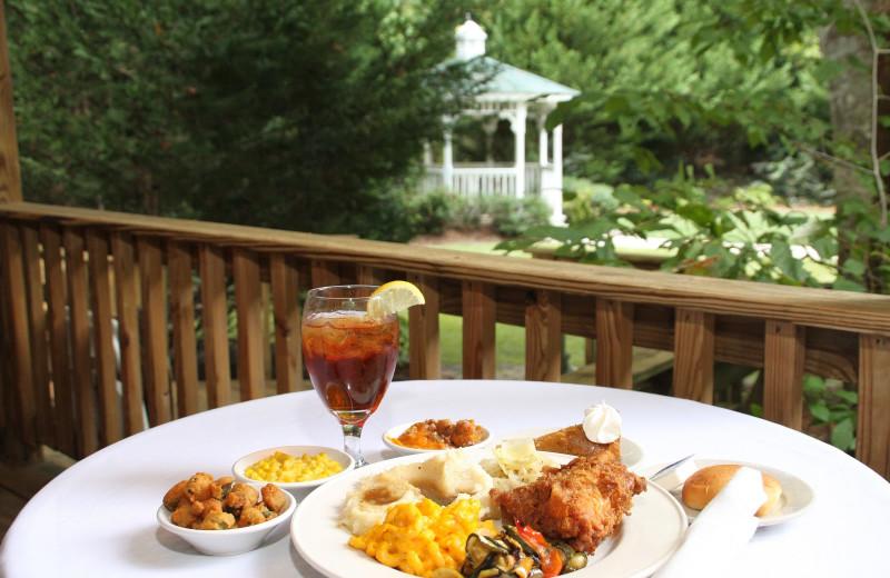 Dining at Forrest Hills Resort.