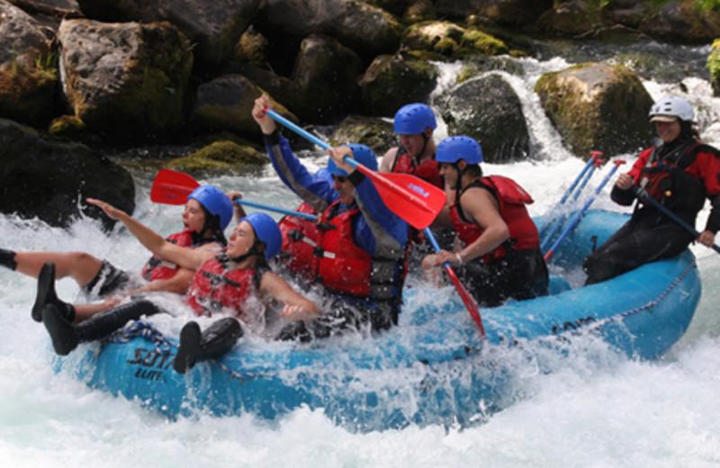 White Water Rafting at  Carson Ridge Cabins