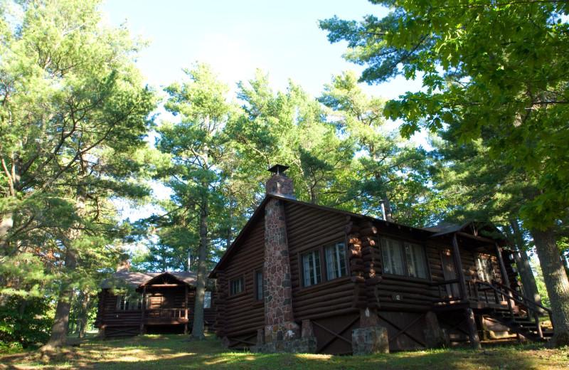 Cabins at Keweenaw Mountain Lodge.