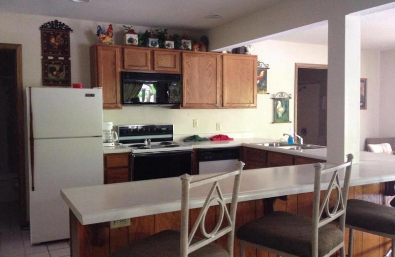 Guest kitchen at Alhonna Resort.