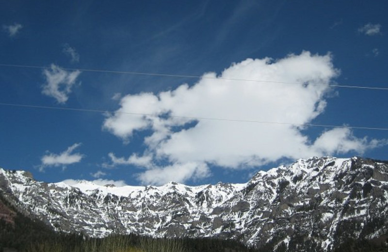 Beautiful Mountain View at Twin Peaks Lodge