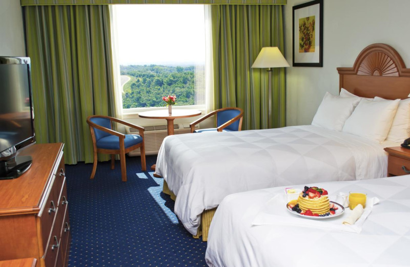 Guest room at Radisson Hotel Branson