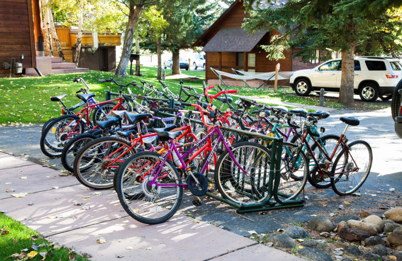 Bikes at Rams Horn Village Resort.