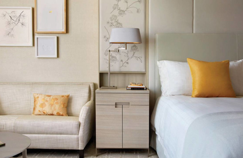 Guest Room at the Four Season Hotel - Toronto