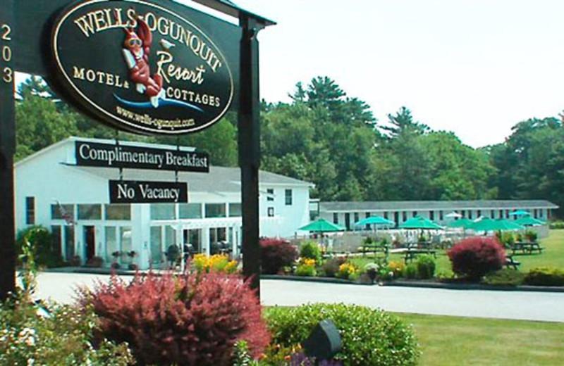 Exterior View of Wells-Ogunquit Resort Motel