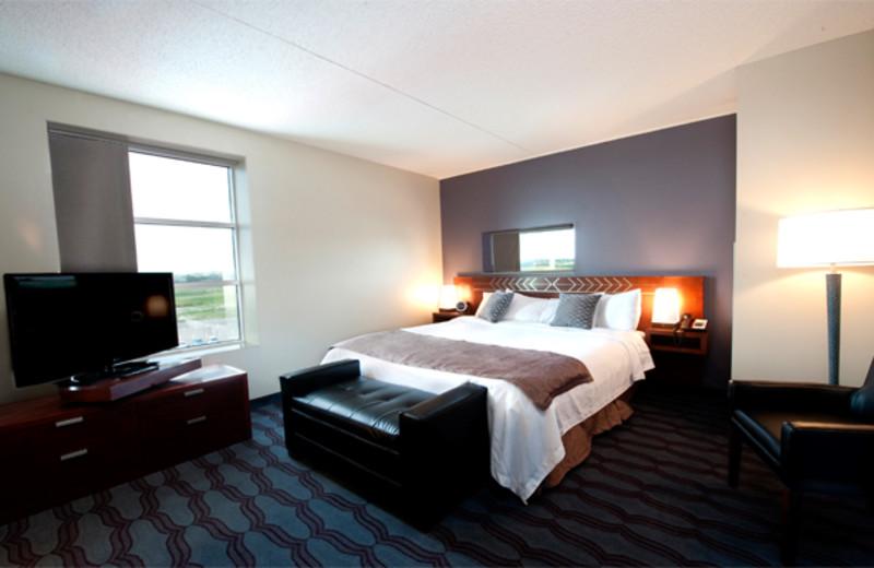Guest room at Sky Dancer Hotel & Casino.