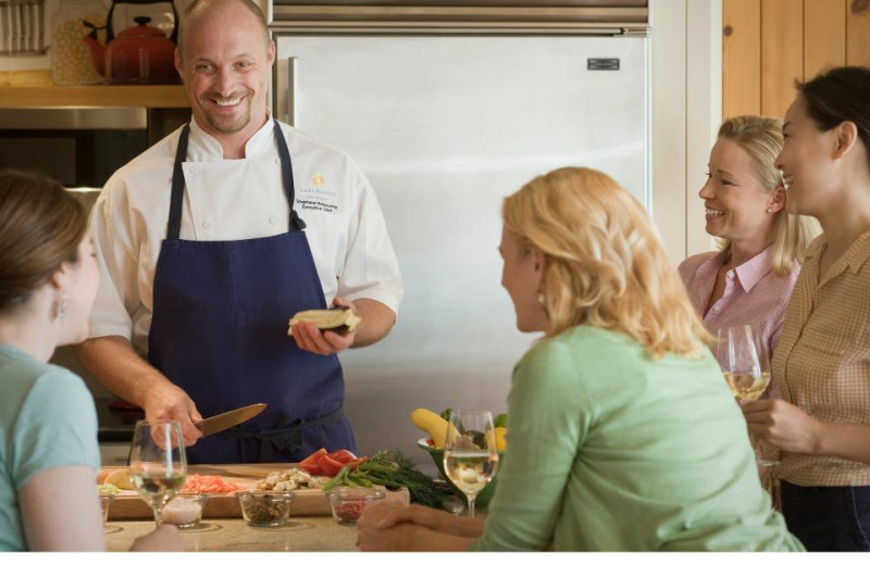 Cooking Classes at Lake Austin Spa Resort