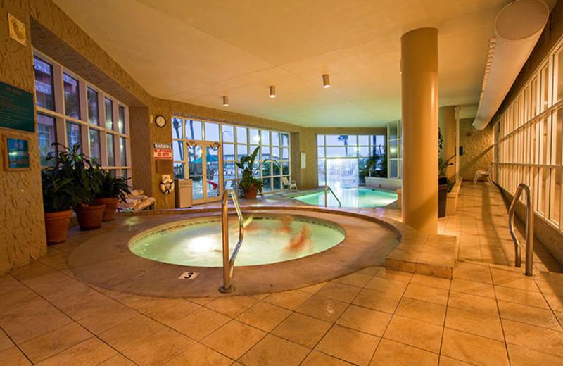 Indoor pool at Perdido Beach Resort.