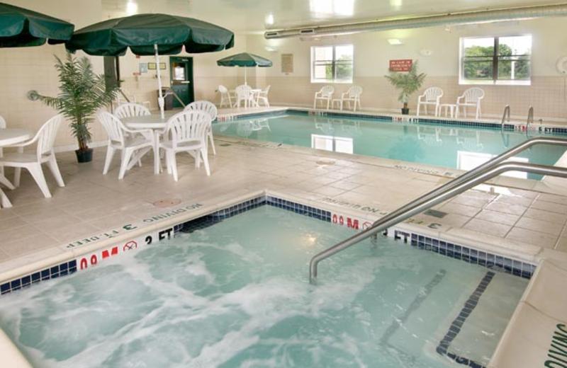 Indoor pool at Country Inn & Suites Chambersburg.