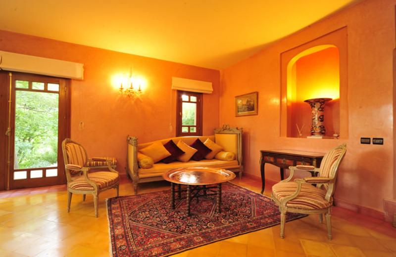 Interior view of Maroc Lodge.