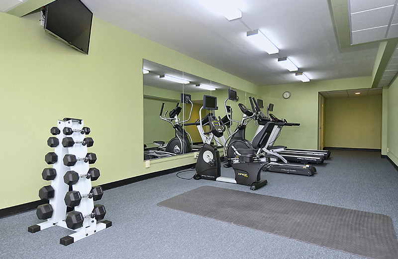 Fitness room at The Sea Ranch Resort.