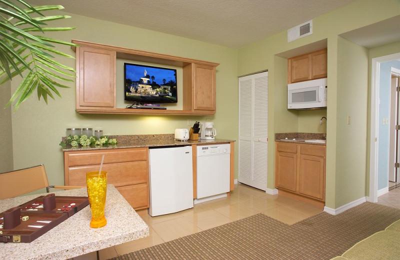 Guest kitchen at Star Island Resort.