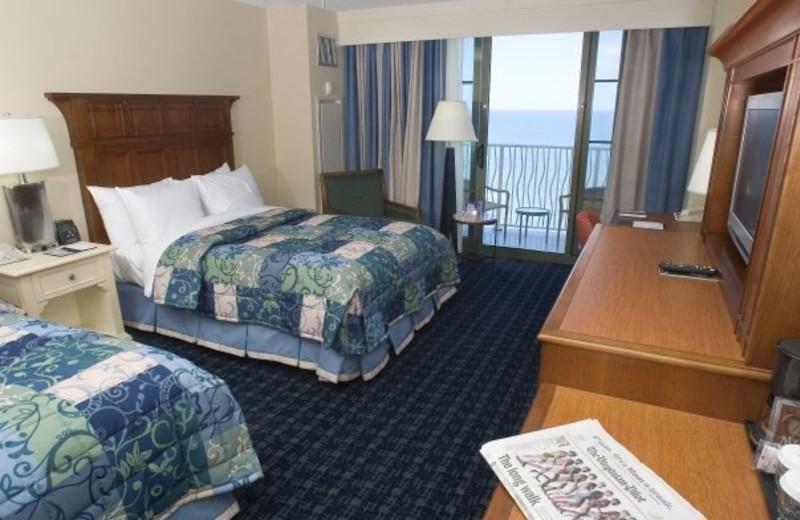 Guest room at Gold Key Resorts.