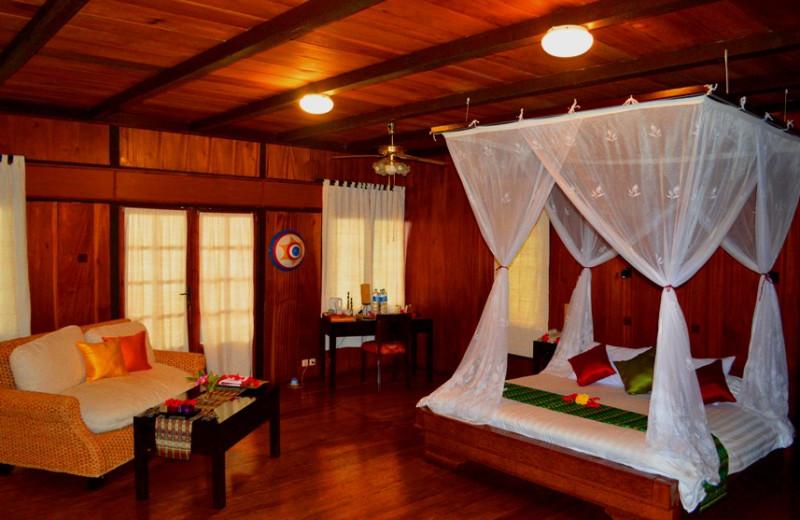Guest room at Kungkungan Bay Resort.