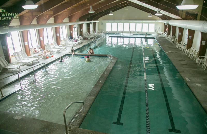Indoor pool at Waterville Valley Resort Association.
