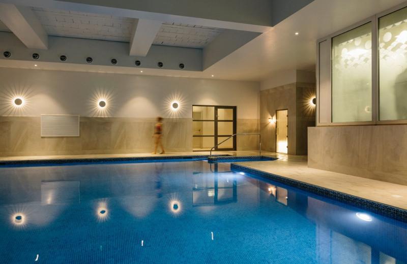 Indoor pool at Merchants Manor.