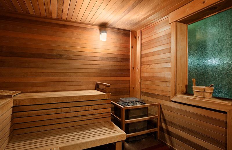 Sauna at Grand Lodge on Peak 7.